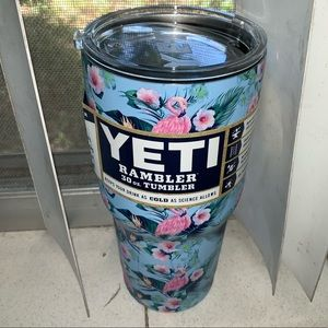 Blue Flamingo Yeti Rambler SUMMER TIME CUP